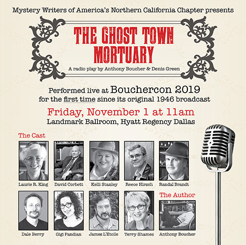 The Ghost Town Mortuary flyer